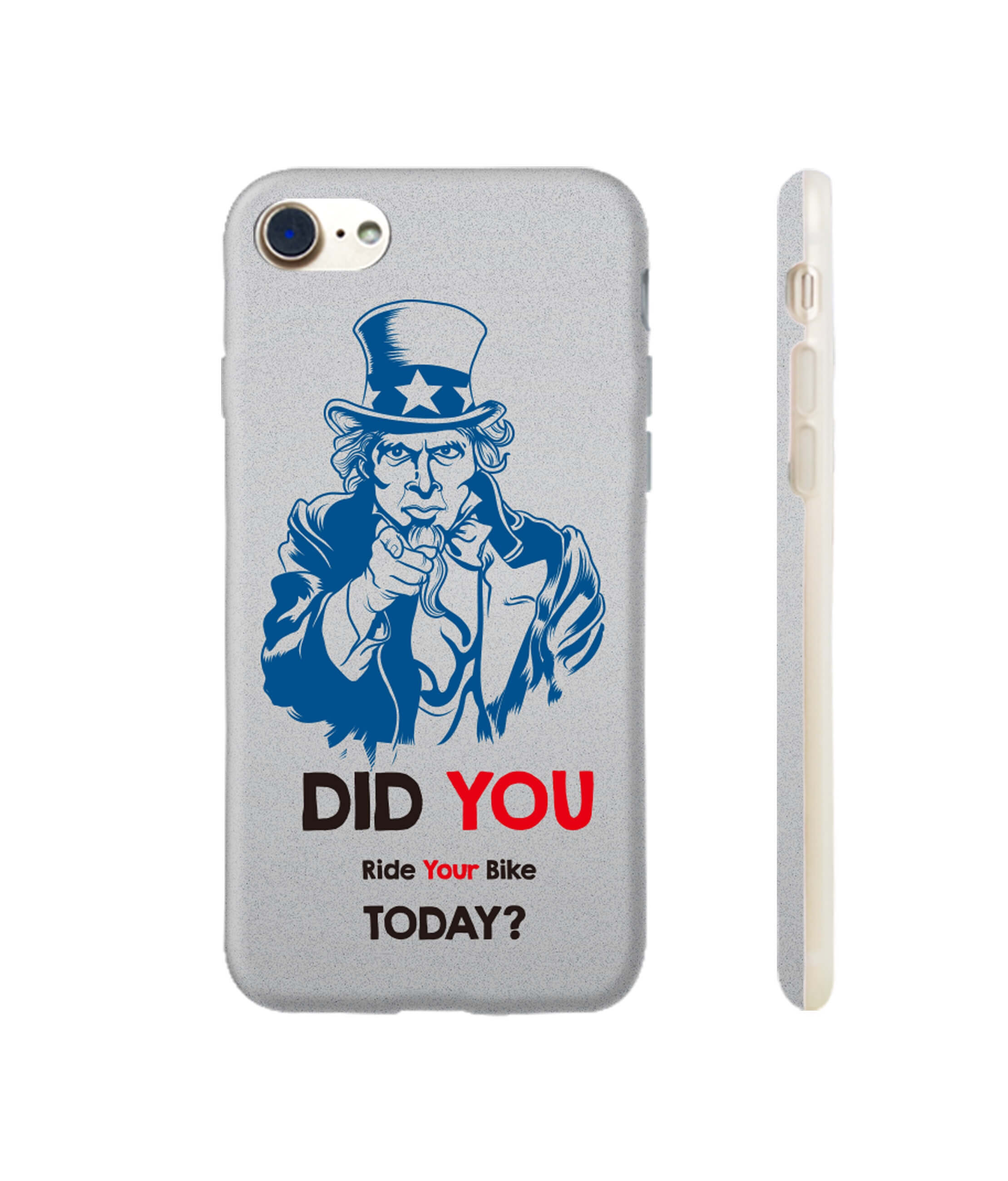 Telefoon-hoesje-iphone7-uncle-Sam-did-you-ride-your-bike-today